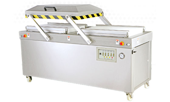 Heavy Duty Double Chambers Vacuum Packaging Machine - J-V013WA. Heavy Duty Double Chambers Vacuum Packaging Machine