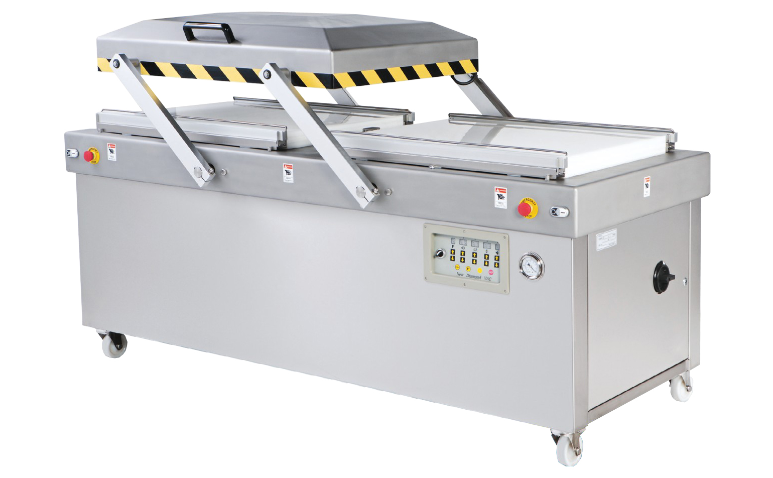 Perfect Heavy Duty Double Chambers Automatic Vacuum Packaging Machine