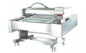 Continuous Belt Type Automatic Vacuum Packaging Machine